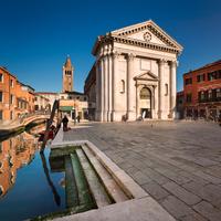 San Barnaba Church in Venice
