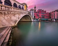 Rialto Bridge at Sunrise, Venice