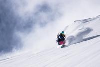 Snowboarding Girl 11098075348| 写真素材・ストックフォト・画像・イラスト素材|アマナイメージズ