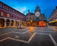 San Giacomo di Rialto Square in Venice
