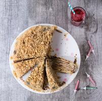 Birthday Honey Cake