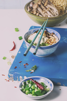 Asian Ramen Soup with Feta Сheese