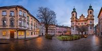 Panorama of Domplatz Square, Innsbruck