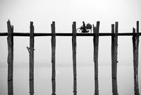 Myanmar, Mandalay, Armarapura, U Bein bridge