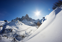 Backcountry Skiing in the Dolomites