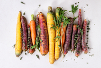 Colorful Carrots with Herbs