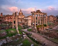 Roman Forum in the Evening