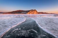 Bay Uzur in the Morning, Lake Baikal