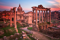Roman Forum in the Morning