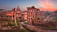 Panorama of Roman Forum