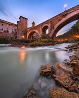 Fabricius Bridge in Rome