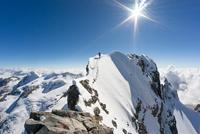 Alpinism on Piz Bernina