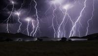 Lightning Attack 11098076335| 写真素材・ストックフォト・画像・イラスト素材|アマナイメージズ