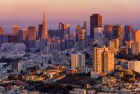 San Francisco Hues 11098076543  写真素材・ストックフォト・画像・イラスト素材 アマナイメージズ