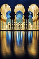 mosque at night 11098076559| 写真素材・ストックフォト・画像・イラスト素材|アマナイメージズ