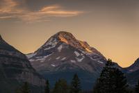 Heavens Peak at Sunset