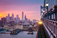 Leaving Philadelphia 11098076724| 写真素材・ストックフォト・画像・イラスト素材|アマナイメージズ