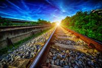 The Railway 11098076742| 写真素材・ストックフォト・画像・イラスト素材|アマナイメージズ