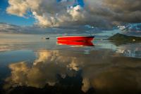 sunset in Mauritius 11098077414| 写真素材・ストックフォト・画像・イラスト素材|アマナイメージズ