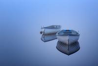 Boats on Loch Rusky 11098077468| 写真素材・ストックフォト・画像・イラスト素材|アマナイメージズ