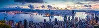 City and Harbor at dawn 11098077966| 写真素材・ストックフォト・画像・イラスト素材|アマナイメージズ