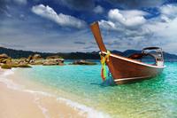 Tropical beach, Andaman Sea, Thailand 11098077979| 写真素材・ストックフォト・画像・イラスト素材|アマナイメージズ