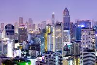 Bangkok city night view. 11098078027| 写真素材・ストックフォト・画像・イラスト素材|アマナイメージズ