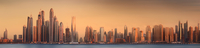 The beauty panorama of Dubai marina 11098078203  写真素材・ストックフォト・画像・イラスト素材 アマナイメージズ