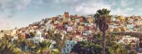 Risco de San Juan 11098078412  写真素材・ストックフォト・画像・イラスト素材 アマナイメージズ