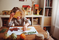 autumn craft with kids