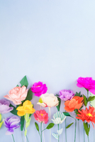Handmade paper flowers 11098078466| 写真素材・ストックフォト・画像・イラスト素材|アマナイメージズ