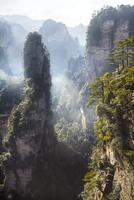 Zhangjiajie Sandstone Peaks