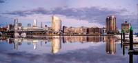Docklands Panorama, Melbourne, Australia 11098078598| 写真素材・ストックフォト・画像・イラスト素材|アマナイメージズ