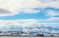 Interstate 80 in Nevada 11098079349| 写真素材・ストックフォト・画像・イラスト素材|アマナイメージズ