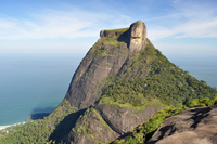 Pedra da Gavea - Rio de Janeiro 11098079823| 写真素材・ストックフォト・画像・イラスト素材|アマナイメージズ
