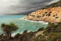Mediterranean coast 11098080277  写真素材・ストックフォト・画像・イラスト素材 アマナイメージズ