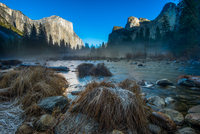 Valley View Yosemite National Park 11098080508| 写真素材・ストックフォト・画像・イラスト素材|アマナイメージズ