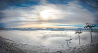 Sunset in French Alps 11098080597| 写真素材・ストックフォト・画像・イラスト素材|アマナイメージズ