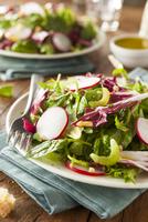Healthy Homemade Herb Salad 11098080870| 写真素材・ストックフォト・画像・イラスト素材|アマナイメージズ