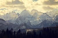 eeriness mountain landscape, Tatry, Poland 11098081080| 写真素材・ストックフォト・画像・イラスト素材|アマナイメージズ