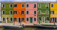 Burano facades 11098081221  写真素材・ストックフォト・画像・イラスト素材 アマナイメージズ