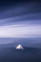 Fuji Yama from Above 11098081259| 写真素材・ストックフォト・画像・イラスト素材|アマナイメージズ