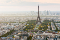 Eiffel tower aerial view - Paris Skyline 11098082213| 写真素材・ストックフォト・画像・イラスト素材|アマナイメージズ