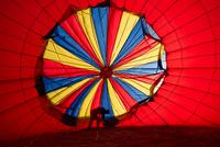 Inside the Hot Air Balloon 11098082265| 写真素材・ストックフォト・画像・イラスト素材|アマナイメージズ