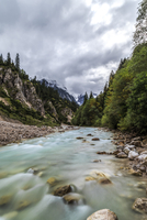 Partnachklamm River 11098082273  写真素材・ストックフォト・画像・イラスト素材 アマナイメージズ