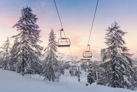 Ski center of Vogel-Slovenia 11098082328| 写真素材・ストックフォト・画像・イラスト素材|アマナイメージズ