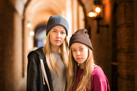 Sidsel Marie and Emilia in Copenhagen