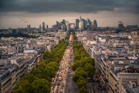 Avenue de la Grande Armee 11098082341| 写真素材・ストックフォト・画像・イラスト素材|アマナイメージズ