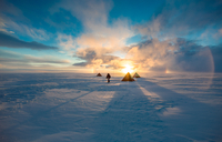 antarctic field camp 11098082405| 写真素材・ストックフォト・画像・イラスト素材|アマナイメージズ