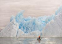 iceberg in a cloudy day 11098082585| 写真素材・ストックフォト・画像・イラスト素材|アマナイメージズ